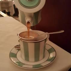 TEA IN THEIR ICONIC TEA SET