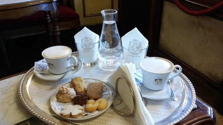 BISCUITS AT CAFFE FLORIAN