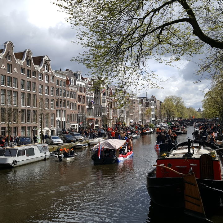 Konigsdag in Amsterdam