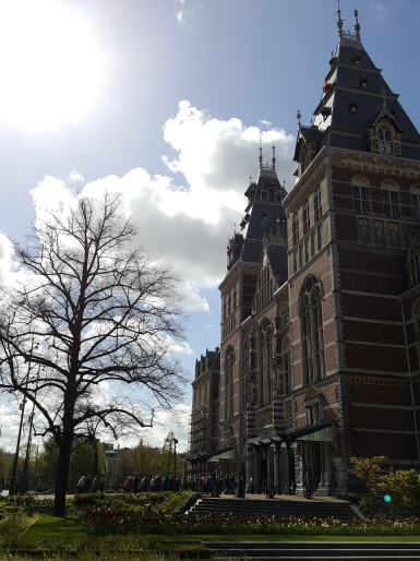 BACK OF RIJKSMUSEUM