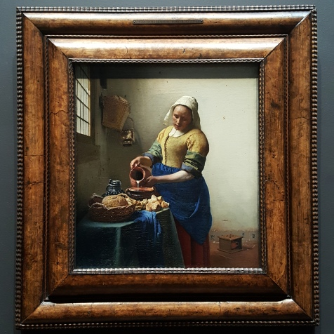 DE MELKMEID - JOHANNES VERMEER (c. 1658)