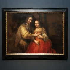 PORTRAIT OF A COUPLE AS ISAAC AND REBECCA - REMBRANDT