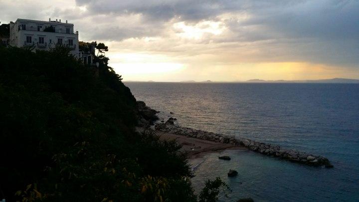 capri-sunset
