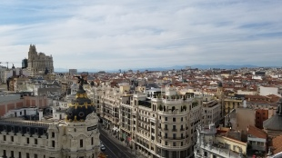 ROOFTOP VIEW OF MADRID